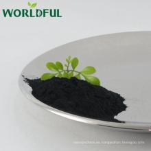 Worldful fertilizante orgánico agrícola potasio fulvato brillante en polvo, ácido húmico + ácido fúlvico