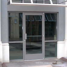 Lowes used exterior hinges door chinese style standard size aluminum alloy single swing  door