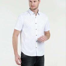 100% Cotton printing eco-friendly Casual dress men shirt
