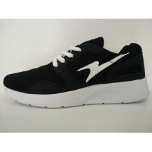 Zapatos corrientes cómodos del negro caliente de la venta