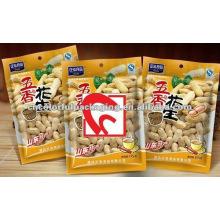 Sacos de embalagem de alimentos com embalagem de amendoim