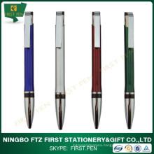 School Supplies Aluminium Ball Pen For Students
