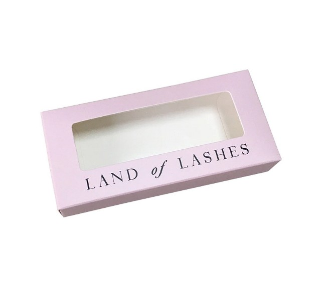 Eyelashes Box With Window