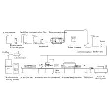 Linha de Produção de Água Mineral 3000bottle / Hour