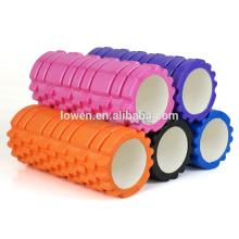 45x15cm-EVA-Physio-Schaum-Roller-Yoga-Pilates Gym Übung Zurück Training W / Tasche