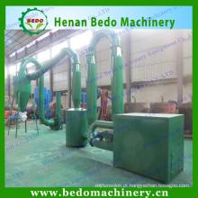 China melhor fornecedor secador de serragem para a linha de produção de aglomerados de madeira 008613253417552