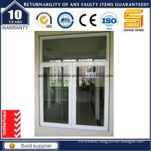 Double Panel Outside Opening Aluminum Casement Window