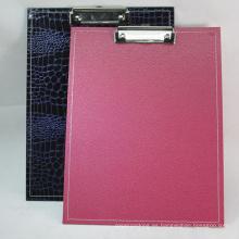 A4 Especial de archivo de PVC Clip Board / File Holder Clip Junta