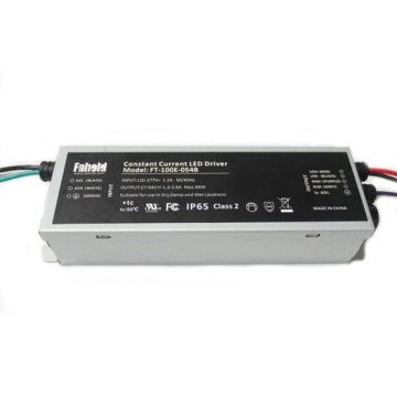 100W LED Drivers 27-54Vdc Dimmable Drivers