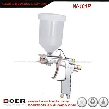 Pistola de pulverización de alta calidad con vaso de plástico W-101P