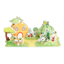 3D Fruit  House Puzzle