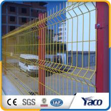 PVC-überzogener geschweißter Maschendrahtzaun, Zaun 3D
