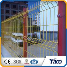 Clôture en treillis soudé enduit de PVC, clôture 3D