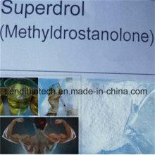 Pharmazeutisches Grade Anaboil Steroid Methasteron Superdrol Pulver für Muskelaufbau