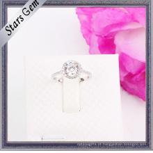 A mais nova moda Shinny CZ jóias anel