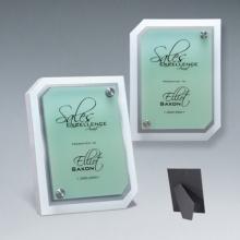 Super Qualität Acryl Clipped Corner Riser Plaque
