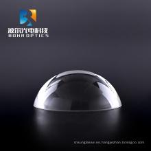 Lente óptica de fibra de lente de media bola D12 * 6 mm