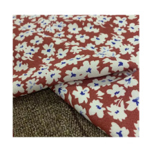 hot sales lenzing viscose  fabric 120D*32S 127GSM printed  floral rayon fabric for clothing material