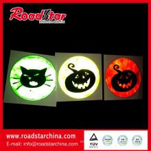 Halloween funny reflective sticker