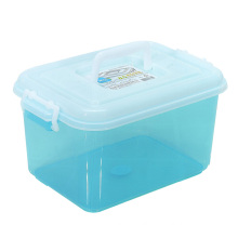 Crystal Household Plastic Storage Box Container for Home (SLSN020)