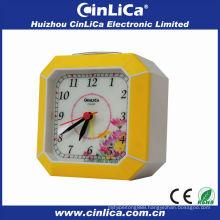 Patent uniform light led alarm clock manufacturer CK-613