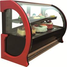 Vitrine d'affichage de gâteau de fenêtre en verre pour le magasin de boulangerie