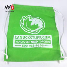 Funny printing non woven backpack with drawstring