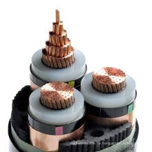 ISO CE Hochspannung 1 Kern 3 xlpe 11kv Strom unterirdisch Kabel Preis