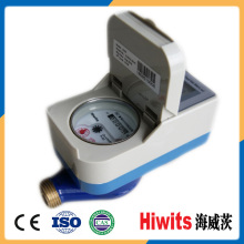 Residential Kontakt Typ Smart Prepaid Wasserzähler mit IC Card