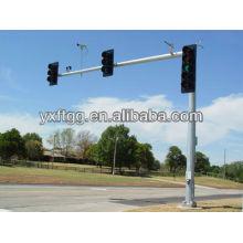 Самый продаваемый стальной оцинкованный полюс для наблюдения в 2015 году, дорожный знак со стальной опорой