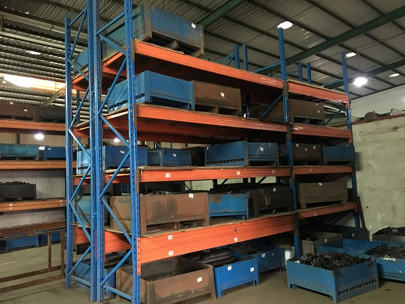 Very Heavy Pallet Racking 4 Tons Per Layer