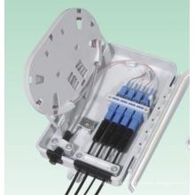 Caja de terminales de fibra óptica (1splitte 4)