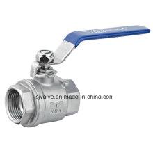 Robinet à boisseau sphérique 2PC avec verrouillage (Q11F-2)