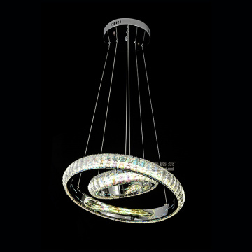 baccarat modern light crystal chandelier berwarna-warni