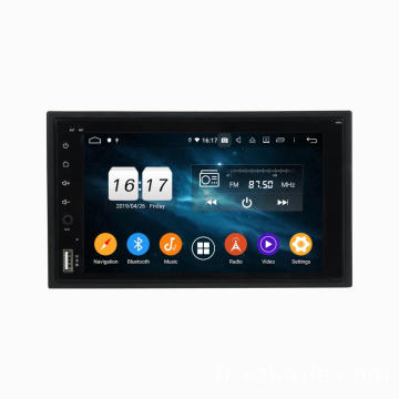 Android 2 din universel 6.2 pouces voiture dvd gps
