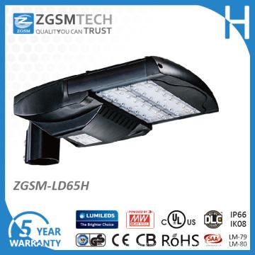 65W LED Parkplatz Licht mit 1-10VDC Dimmen