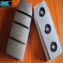 L140 Longueur en métal Diamond Fickert, outil de polissage au diamant, bloc de meulage