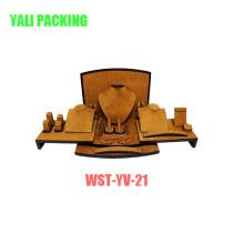 Costume d'affichage de bijoux de velours jaune de Mdfcotaed Fabricant en gros (WST-YV-21)