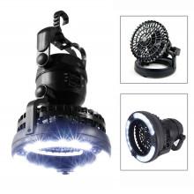 Lanterna de acampamento portátil LED com ventilador de teto