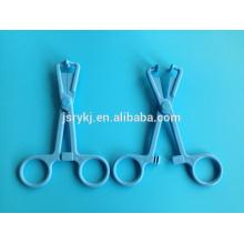 Tipos de alta qualidade de pinça médico descartável pinça titular esponja de plástico