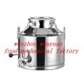 Stainless Steel Milking Machine Bucket-40L