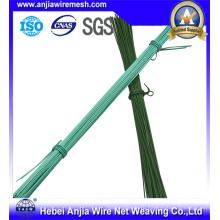 Строительный материал ПВХ покрытием Galavnized Cut Iron Wire