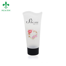 Cosmetic plastic transparent tube for cosmetic tube containers for skin care products