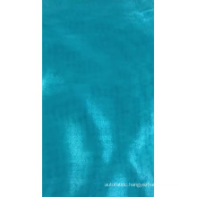 The best-seller 100% polyester organza with flocking plain dyed for garment