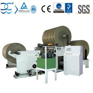Easy Operation Kraft Paper Rewinder and Slitter Machine