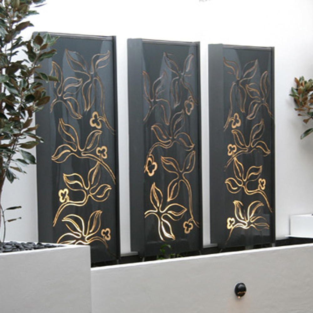 Laser Cut Metal Wall Art para jardín