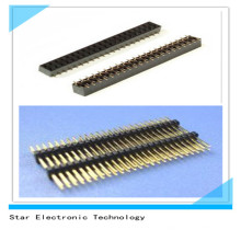 Nylon Male Female PCB Pin Header Steckverbinder zweireihig