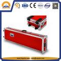 Red Aluminum Guitar Flight Instrument Case (HF-6025)