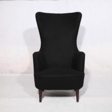 Stoff Wingback Lounge Stühle