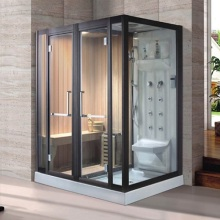 Traditional Design Sauna Room Combined Steam ShowerRoom